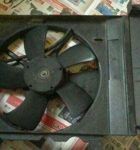 Вентилятор радиатора Nissan March AK12