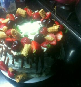 Домашние торты и кексы