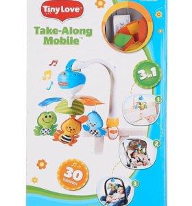 Мобиль музыкальный на кроватку 3 в 1 Tiny Love