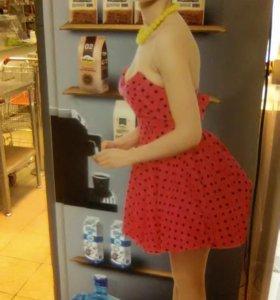 Наклейки для кофейных торговых автоматов
