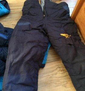 Комбинезон зимний 500 р и зимние штаны по 250 р,