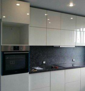 Кухня белая эмаль