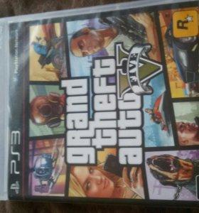 Игра на PS3 Gta5