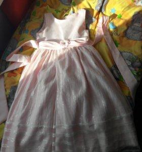 Платье для модниц) рост 140