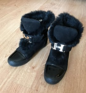 Зимние ботинки 37 размер