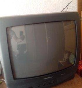 Цветной телевизор GoldStar 54 см без пульта