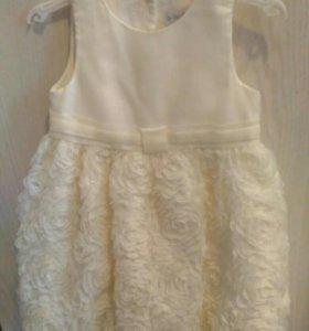 Платье нарядное р 92