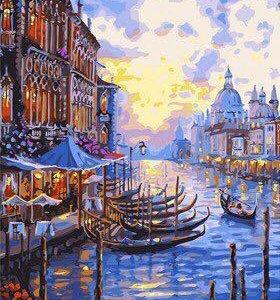 """Картина по номерам """"Венеция"""""""