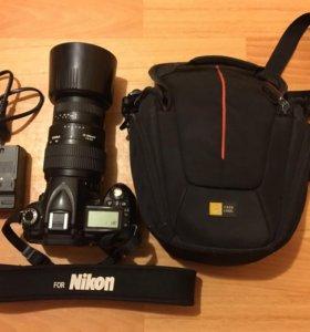 Зеркальная камера Nikon D90