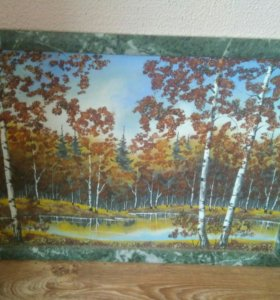 Картина из Уральских камней
