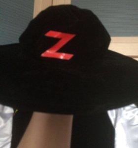 Новогодний костюм-Зорро