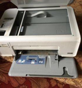 Цветной принтер(hp photosmart c4683)