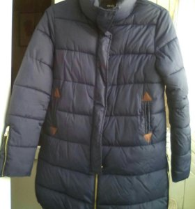 Пальто женское стёганое новое р.48