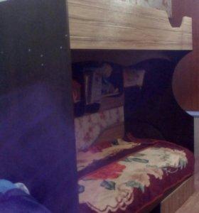 Продам новую двухярусную кровать