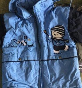 Куртка для мальчика осень