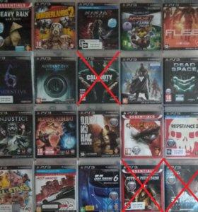 Игры для PS3 и Xbox 360(Прокат,Продажа,Обмен)