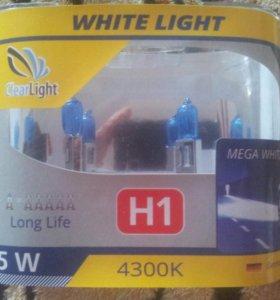 Галогеновые лампы Н1