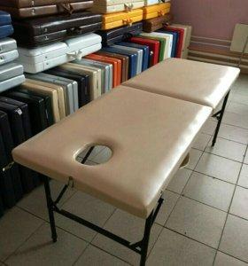 Массажный стол с вырезом для лица