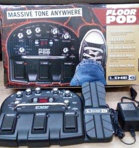 Гитарный процессор Line 6 Floor POD