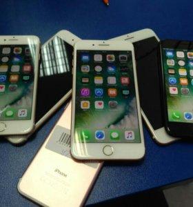 РАСПРОДАЖА Iphone 7 и 7+(б/у)!!!