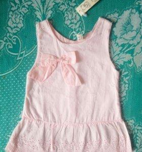 Новое платье размер 74-80 см