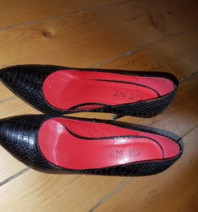 Туфли натур.кожа фирма Gene