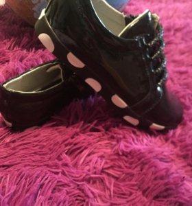Туфли девочкам 36