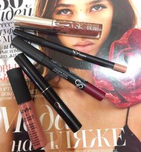 lipstick KYLIE NYX AVON Карандаш для губ помада