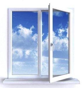 Окна пластиковые, балконы