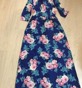 Платье в пол (новое)