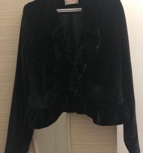 Пиджак натуральный бархат