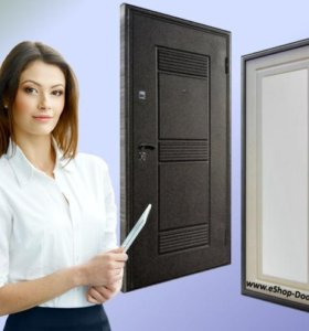 Железные двери с доставкой и установкой.