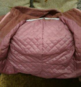 Норковая шуба куртка с капюшоном 46-48