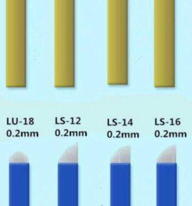 Расходные материалы для микроблейдинга и татуажа