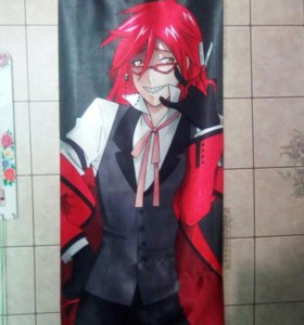 Тканевый плакат Kuroshitsuji