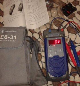 Мегаомметр цифровой Е6-31