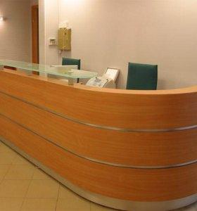 Торгоая мебель на заказ: Ресепшн