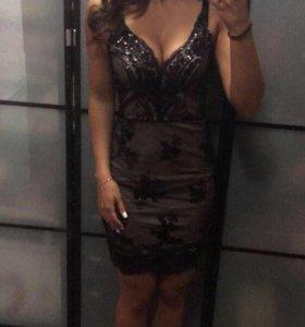 Новое вечернее коктейльное платье