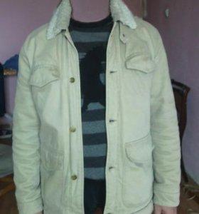 Куртка непродуваемая на искусственном меху
