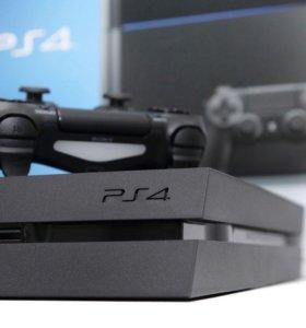 Sony Playstation 4 (500Gb) + 1 геймпад