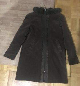 Пальто весна-осень-зима с подкладкой