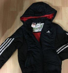 Куртка Adidas+ толстовка