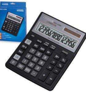 Продам новый калькулятор citizen SDC-435N