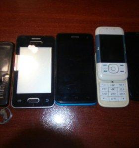 Куча телефонов