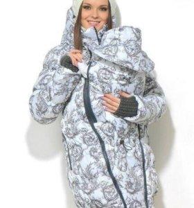Слингокуртка (куртка для беременных) зимняя