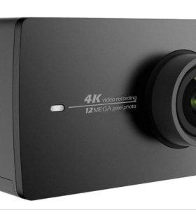 Xiaomi Yi 4k Action Camera (черный)
