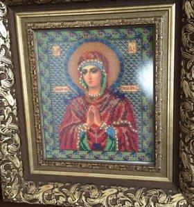 """Икона """"Семистрельная Богородица"""""""