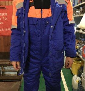 Спецодежда зимняя мужская( куртка и комбинезон)