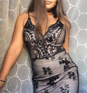 Новое вечернее платье коктейльное