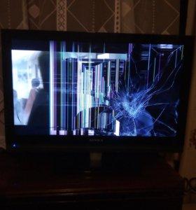 супра,,, работает ,разбит экран есть пульт коробк